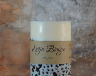 Candle soy vanilla scent