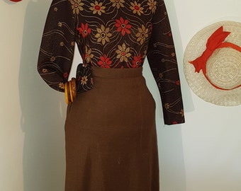 Skirt and top vintage