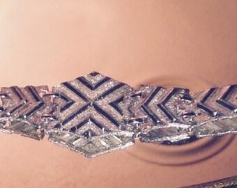 Sarah Coventry Vintage Silver Tone Bracelet