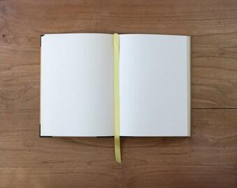 Artisan notebook with phrase 15x21cm/5.9'x8.2'