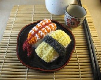 Knitted Nigiri Sushi