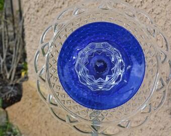 Cobalt Blue Plate #1