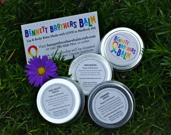 Bennett Brothers Balm - Lip & Body Balm - 100% of profits donated to Dana-Farber Cancer Institute!