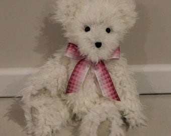 ANA - Teddy Bear, Handmade, Soft Toy, Stuffed Animals, Newborn Gift