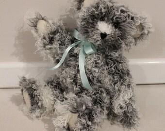 KADE - Teddy Bear, Handmade, Soft Toy, Stuffed Animals, Newborn Gift