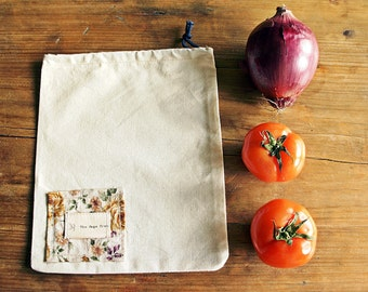 Vintage Reusable vegetable bags