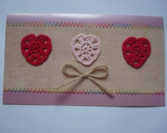 Romantic Greeting Card - Handmade Greeting Card