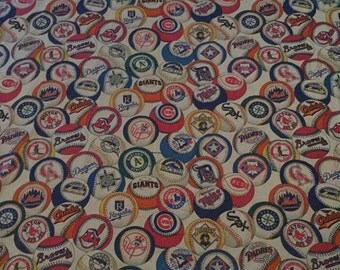 Vintage 1993 MLB Teams Twin Flat Sheet