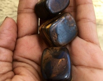 Tigers Eye 3 pc. stone set