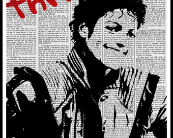 michael jackson thriller poster singer pop star rera