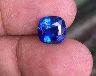 4.48 Carat Natural Blue Sapphire