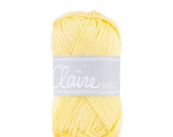 Claire's no. 1 light yellow