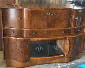 Fabulous Antique Bar Cabinet