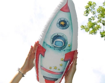 Space Rocket pillow