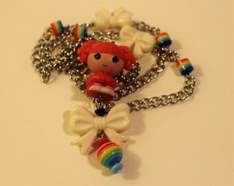 Red Lala loopsy necklace