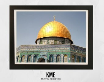 Dome of the Rock, Israel: Print 011
