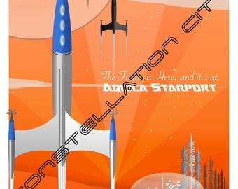 Aquila Starport 11x14 Print