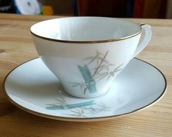 Noritake Tea Cup and Saucer