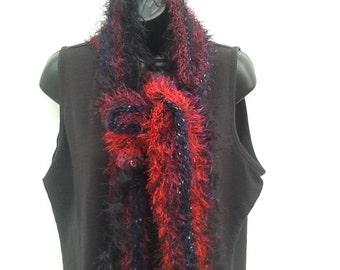 Fuzzy stipend scarf