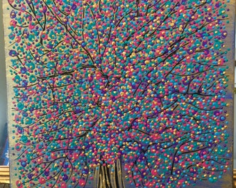 Goldy dotted tree
