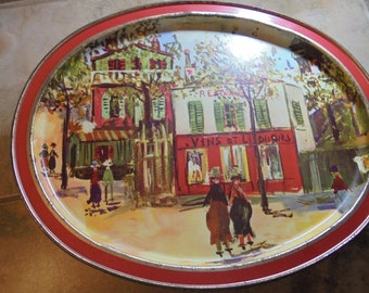 Vintage Sunshine Biscuit Tin