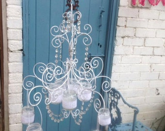 Vintage Candle Holder Chandelier