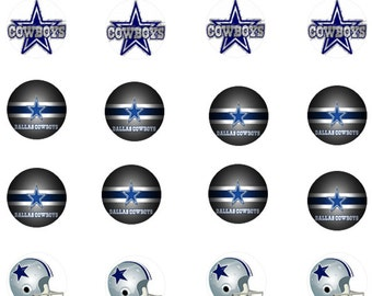 Dallas Cowboys Mini Edible Images