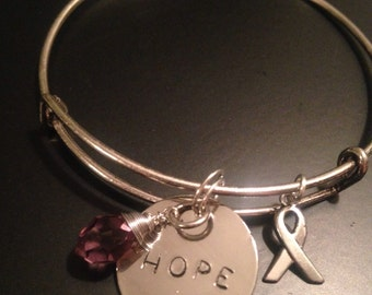 Hope for a Cure bracelet for MS Alhzheimers