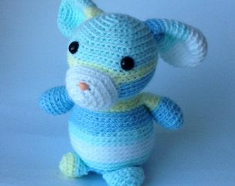 Crocheted animal Laura Bunny