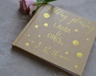 Personalised notebook - square