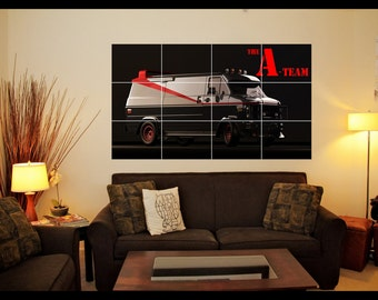 The A-Team Wall Art Poster