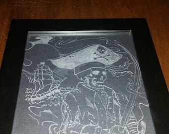 Hand sketched Pirate