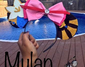 Mulan Inspired Ears