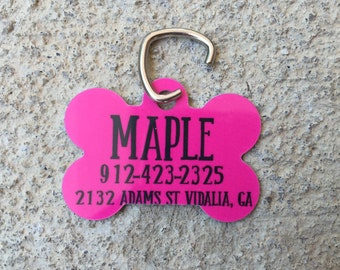 Personalized ID tag for your pet!