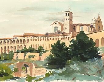 Assisi - Giclée Reproduction