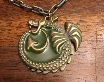 Dragon necklace