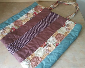 Shopping Bag. Fully Quilted.