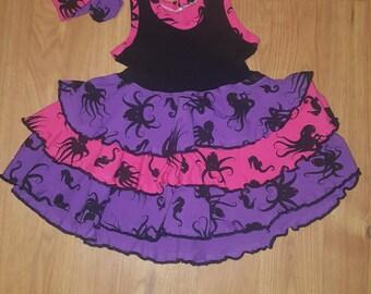 Girls layered dress