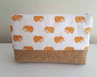 "Pencil case ""Hedgehog Parade"""