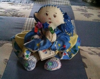 Aubrey Handmade Cloth Angel Doll