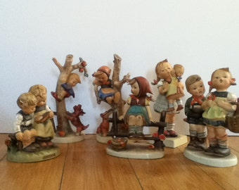 Lot of 9 Hummels Figurines from 1948