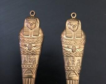Sarcophagus earrings