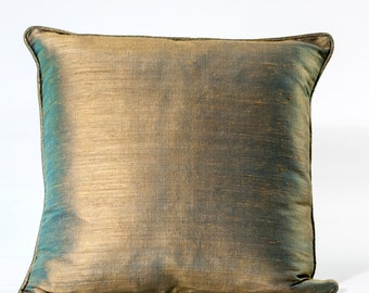 Jim Thompson designer pillow, silk decorative pillow cover, designer pillow cover
