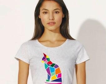 "T-shirt ""CAT ROMB"""