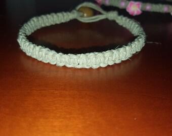 Hemp Jewelry - Hemp Bracelet - Natural Jewelry - Natural Hemp Bracelet