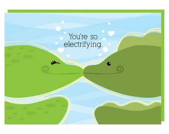 You're so electrifying! Greeting Card