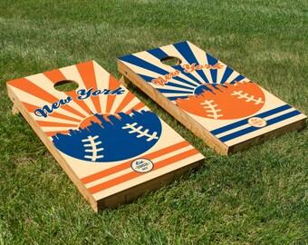 New York Mets Cornhole Board Set