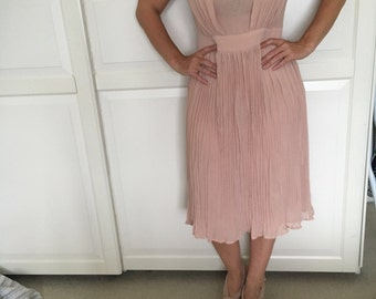 Dusky pink dress