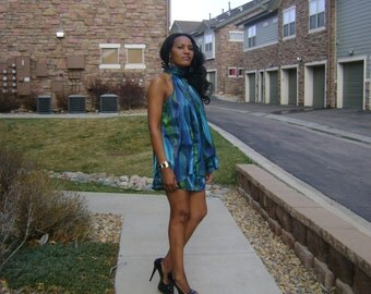 Special occasion short  dress- Green