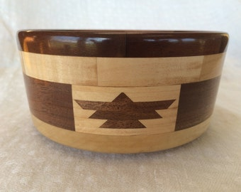 Segmented bowl with Phoenix